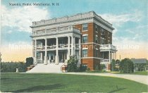 Image of Postcard, Masonic Home, Manchester, N.H. - 1972.053.002.2