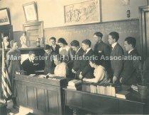Image of Straw School, February Class of 1918 - 1972.110.008