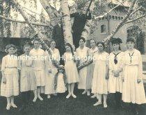 Image of Straw School - Group Photo 1917 - 1972.110.033