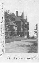 Image of Postcard, The Elliott Hospital - 1972.141.562.37