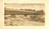 Image of Postcard, Amoskeag Falls & Bridge, Manchester, NH - 1972.141.562.2