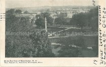 Image of Postcard, Bird's Eye View of Manchester, N.H. - 1972.141.562.3