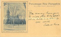 Image of Postcard, First Congregational Church, Manchester, NH - 1972.141.562.5