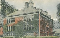 Image of Postcard, Straw School, Manchester, N.H. - 1973.060.002.5