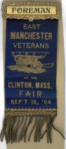 Image of Fireman's Muster Badge - East Manchester Veterans, 1904 - 1973.503.003