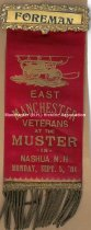 Image of Fireman's Muster Badge - Foreman - East Manchester Veterans, 1904  - 1973.503.004