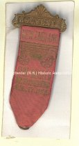 Image of Badge - New England Fire Muster, 1905 - 1973.503.014