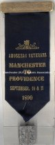 Image of Badge - Amoskeag Veterans Manchester to Providence, 1890 - 1973.513.006