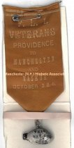 Image of Ribbon - F. L. I. Veterans - Providence to Manchester and Nashua, 1889 - 1973.513.016
