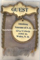 Image of Badge - Guest - Amoskeag Veterans of N.H. Outing - 1973.513.020