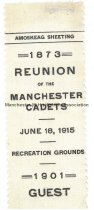 Image of Reunion of the Manchester Cadets - 1915 - 1973.514.002