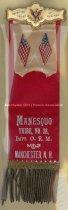Image of Badge - Improved Order of Red Men Manesquo Tribe No. 28, Manchester,  N.H. - 1973.548.001