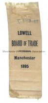 Image of Ribbon, Lowell Board of Trade - Manchester 1895 - 1973.576.007