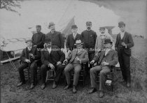 Image of Group Portrait Political Rally - circa 1907-1909. - 1974.001.005