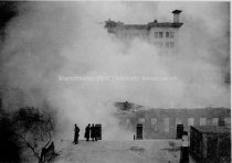 Image of Fire Merchants Exchange Fire, 837-871 Elm Street - 1914 - 1974.084.009