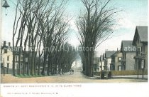 Image of Postcard, Granite St. West Manchester, N.H., In Ye Olden Times - 1974.014.012