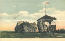 Image of Postcard, Tipping Rocks, Shirley Hill, Manchester, New Hampshire (Goffstown, NH) - 1974.126.003