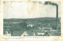 Image of Postcard, Bird's-Eye View Mill, Manchester, NH - 1974.130.025