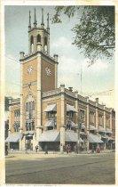Image of Postcard, City Hall, Manchester, NH - 1974.214.005