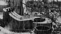 Image of Building New Dam Penstock and Turbine Housing - 1975.500.042