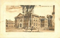 Image of Postcard, Court House, Manchester, NH - 1975.025.014