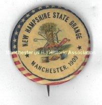 Image of New Hampshire State Grange Pin, 1909 - 1975.103.003