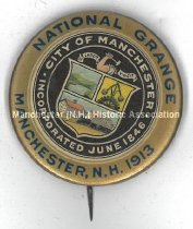Image of National Grange - Manchester, N.H. Pin, 1913 - 1975.103.007
