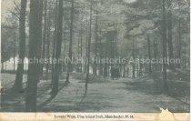 Image of Postcard, Lovers' Walk, Pine Island Park, Manchester, N.H. - 1975.163.005