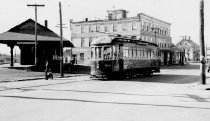 Image of Copy Photo—East Manchester Trolley # 56 - 1976.048.021