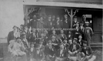 Image of Group Portrait—Coon Club at Lake Winnipesaukee, NH - August 1891 - 1976.504.029