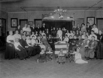 Image of Group Portrait— International Order Of Odd Fellows, Rebeccas Auxiliary - 1976.504.062