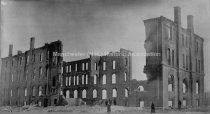 Image of St. Anselm's College, Ruins After Fire - February 18, 1892 - 1976.504.088