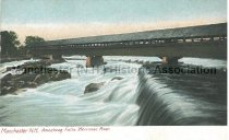 Image of Postcard, The Amoskeag Falls, Manchester, NH - 1976.001.004
