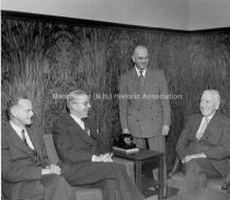Image of Group Portrait Officers— Merchants Saving Bank, 33 Mechanic Street - 1951 - 1977.146.011
