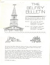 Image of The Belfry Bulletin - 1977.049.M527-M560