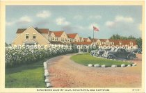 Image of Postcard, Manchester Country Club, Manchester, N.H. - 1977.049.M659