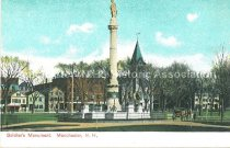 Image of Postcard, Soldier's Monument, Manchester, N.H. - 1977.049.M665