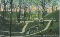 Image of Postcard, Valley Cemetery, Manchester, N.H. - 1977.049.M668