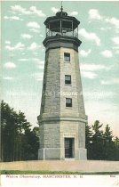 Image of Postcard, Weston Observatory, Manchester, N.H. - 1977.049.M669
