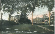 Image of Postcard, Home of General Stark, Manchester, N.H. - 1977.049.M672