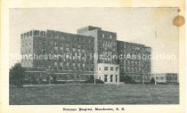 Image of Postcard, Veterans Hospital, Manchester, N.H. - 1977.094.011