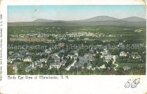 Image of Postcard, Birds Eye View of Manchester, N.H. - 1977.094.012
