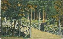 Image of Postcard, Manchester, N.H., Bridge, Pine Island Park - 1977.115.007