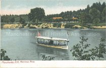 Image of Postcard, Manchester, NH, Merrimac River - 1977.121.027