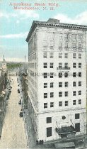 Image of Miniature Postcard, Amoskeag Bank Bldg., Manchester, NH - 1977.161.005