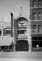 Image of Eagle or Vitaphone Theatre, 1182 Elm Street - circa 1922 - 1923 - 1978.091.005