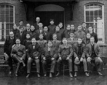 Image of Group Portrait—Twenty Eight Members Amoskeag Manufacturing Company Maintenance Crew - 1981-006