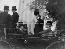 Image of President Theodore Roosevelt Beside Carriage - 1908 - 1981.097.002