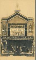 Image of Manchester Tea Company, 923 Elm Street, Exterior - circa 1900 - 1981.095.010