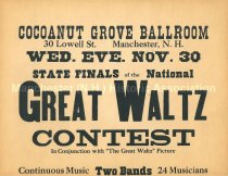 Image of Cocoanut Grove Ballroom Great Waltz Contest - 1981.145.148